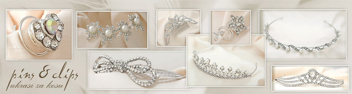 Pins & Clips ukrasi za kosu (Hair accessories)